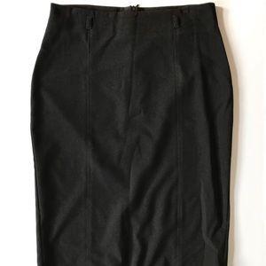 Khaki Krew Black Skirt. Size Medium.
